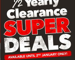 Harvey Norman Catalogue 25 December 2016 – 2 January 2017. Boxing Day Sale