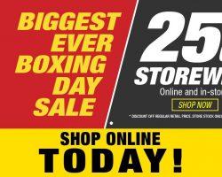 Supercheap Auto Boxing Day Catalogue