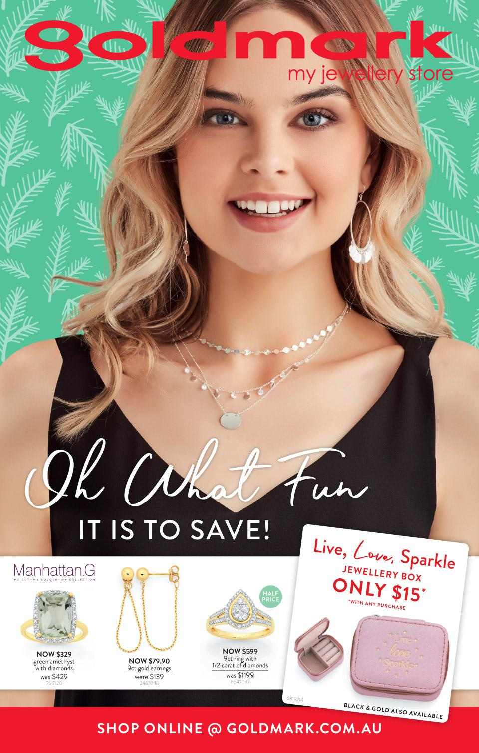 Goldmark Catalogue 4 November - 1 December 2019. Oh What Fun It Is to Save!