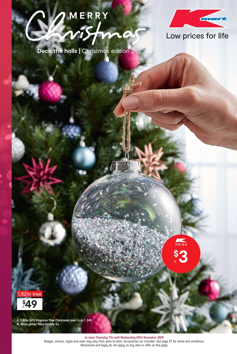 Kmart Catalogue 7 November - 20 November 2019. Christmas Edition 2!