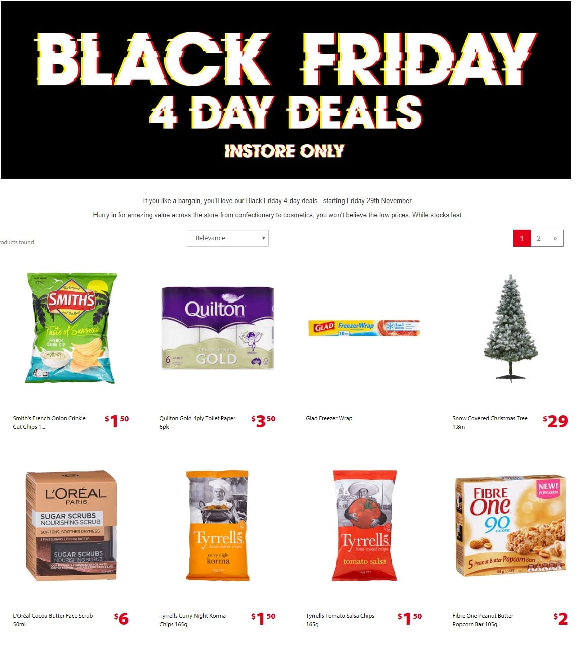 The Reject Shop Catalogue 29 November - 2 December 2019. Black Friday Sale!