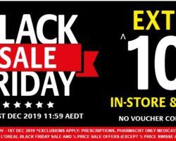 Chemist Warehouse Black Friday Sale 2019