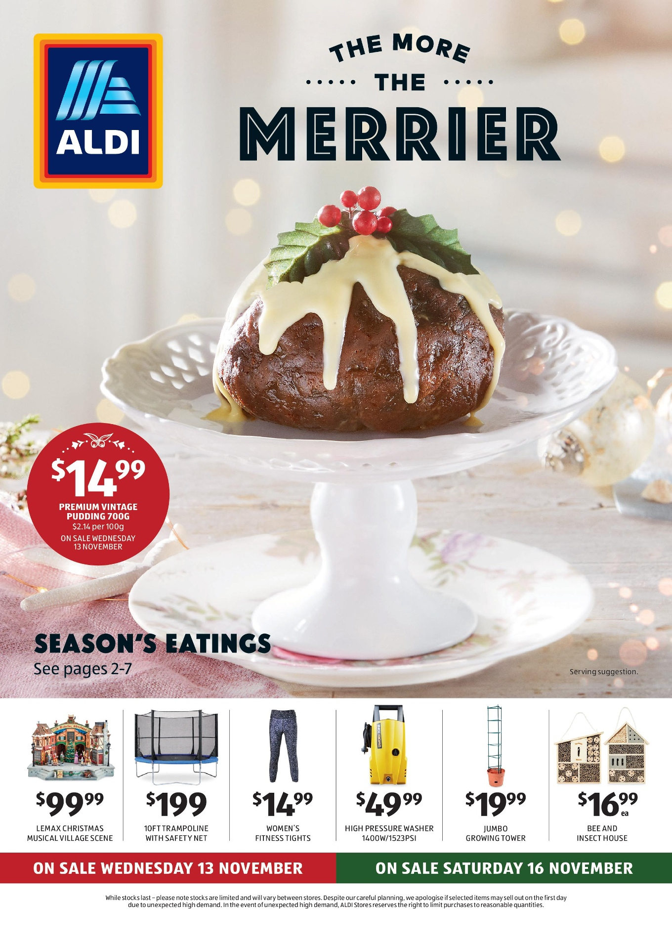 Aldi Catalogue 13 November – 19 November 2019