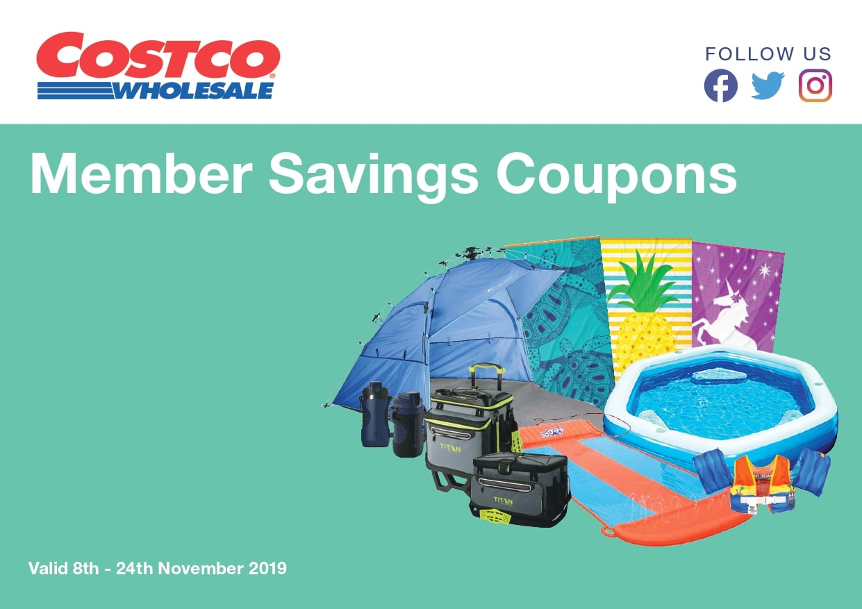 Costco Catalogue 8 November - 24 November 2019
