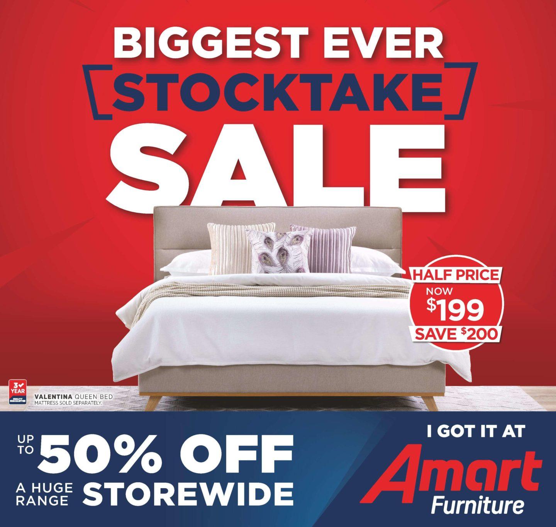 Super Amart Catalogues 11 December 2019 - 7 January 2020. Biggest Ever Stocktake Sale!