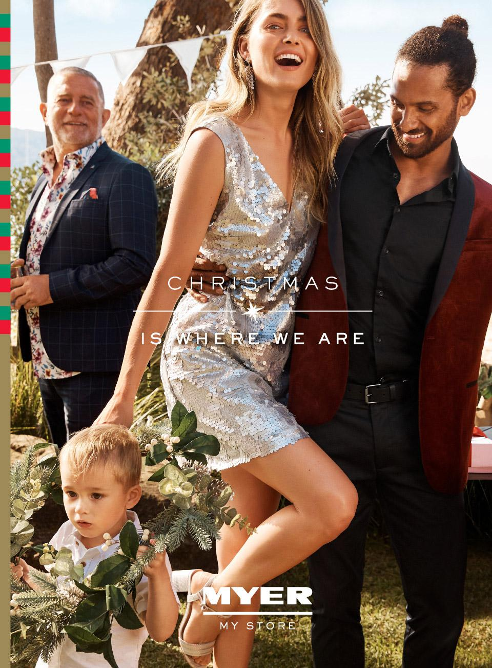 Myer Catalogue 9 November - 24 December 2019. Christmas Is Where We Are!
