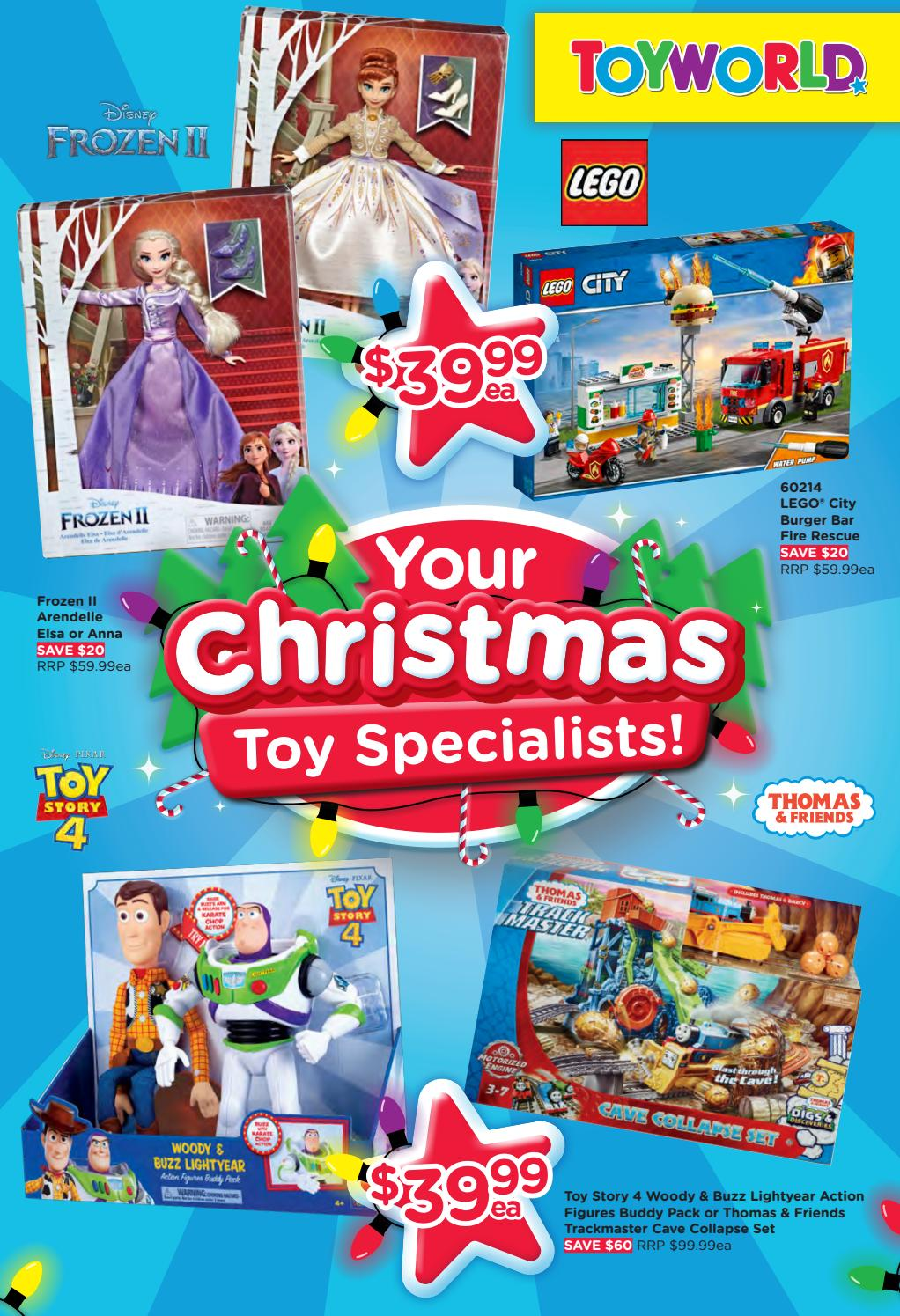 Toyworld Catalogue 4 December - 15 December 2019. Your Christmas Toy Specialists!