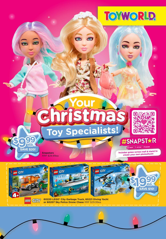Toyworld Catalogue 13 November - 24 November 2019. Your Christmas Toys Specialists!
