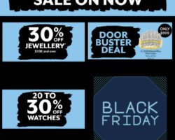 Prouds Black Friday Sale 2020