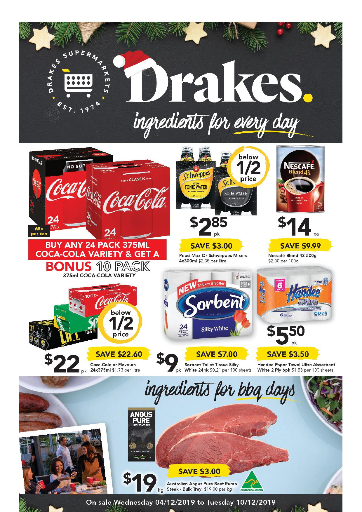 Drakes Catalogue 4 December - 10 December, 2019