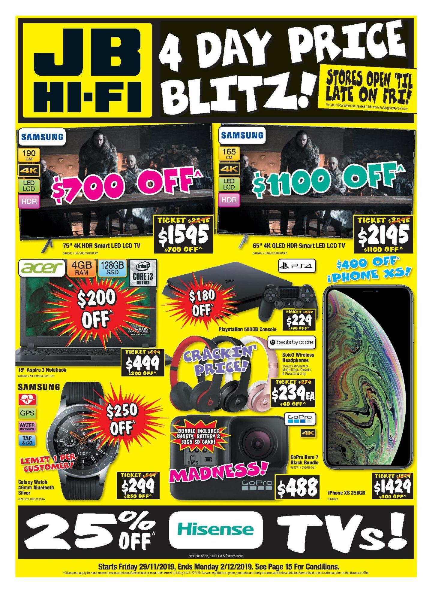 Jb Hi Fi Black Friday 2019 Sales