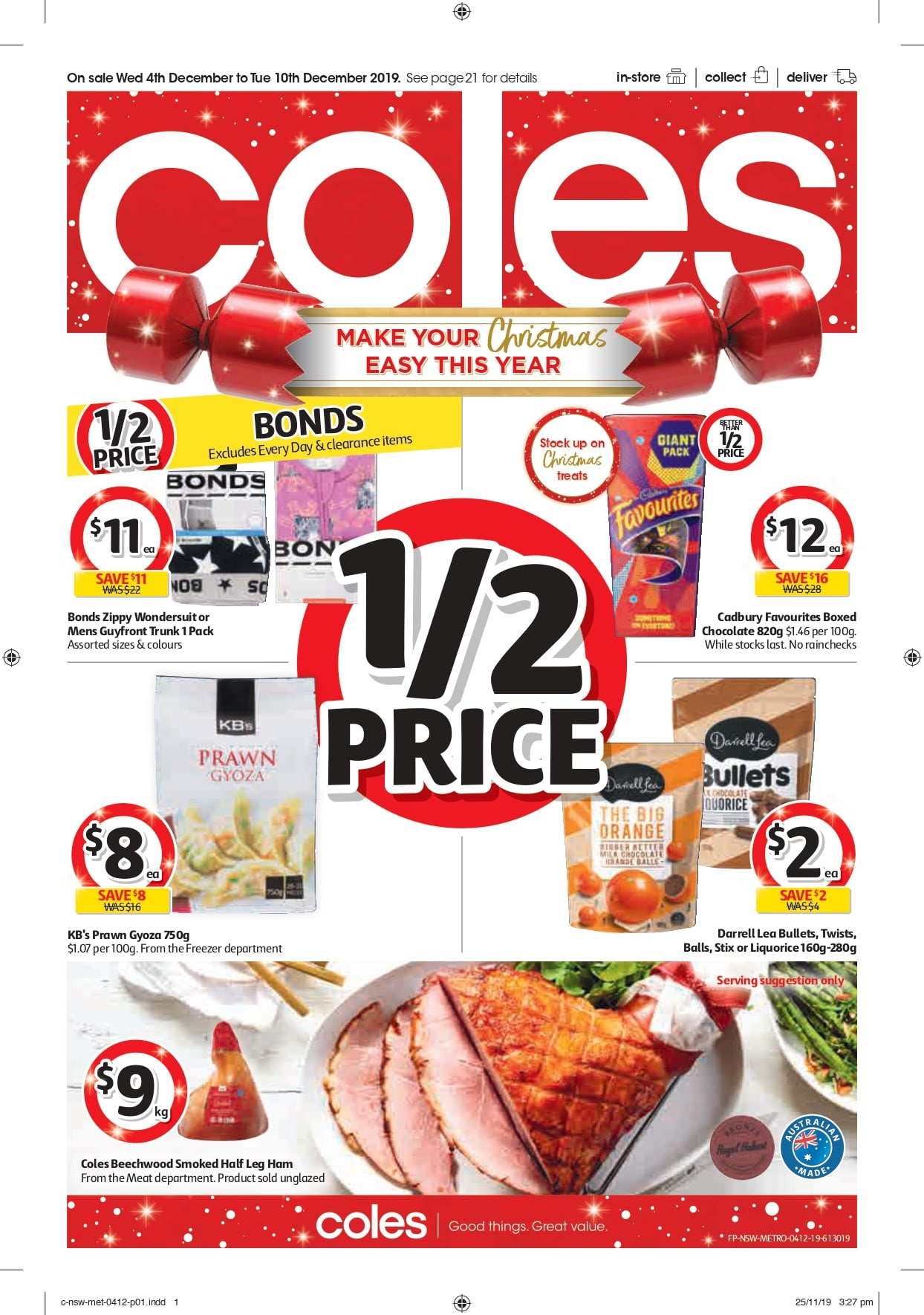 Coles Catalogue 4 December - 10 December 2019