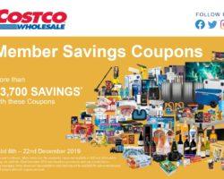 Costco Catalogue 6 December -22 December 2019
