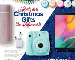 Officeworks Catalogue 7 December - 24 December 2019. Create Personalised Gift Wrapping!