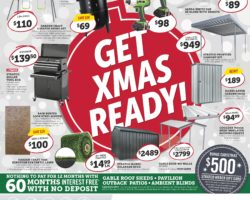 Stratco Catalogue 6 December - 29 December 2019. Get Christmas Ready!