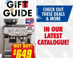 The Good Guys Catalogue 12 December - 24 December 2019. Christmas Gift Guide!