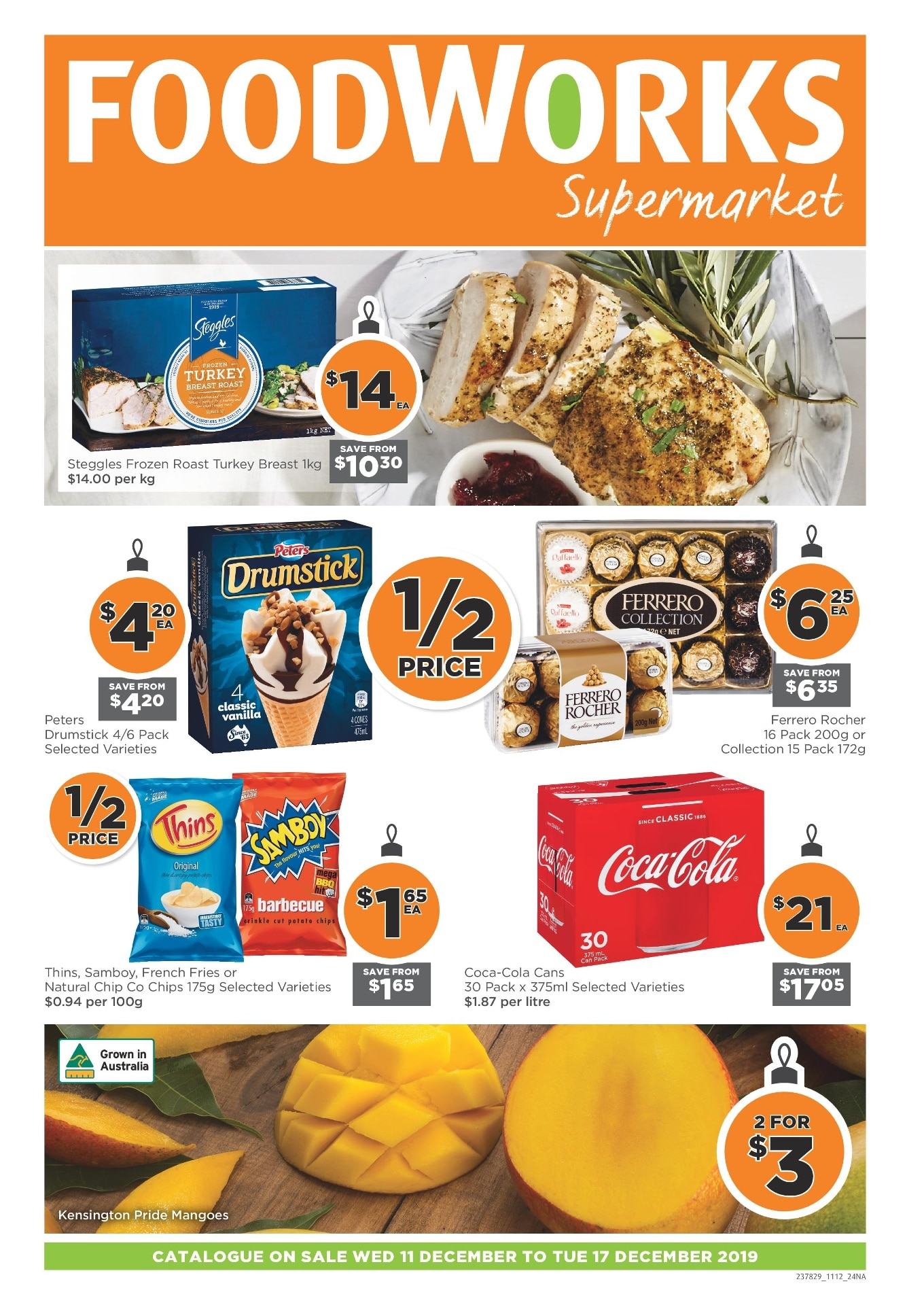 FoodWorks Catalogue 11 December - 17 December 2019