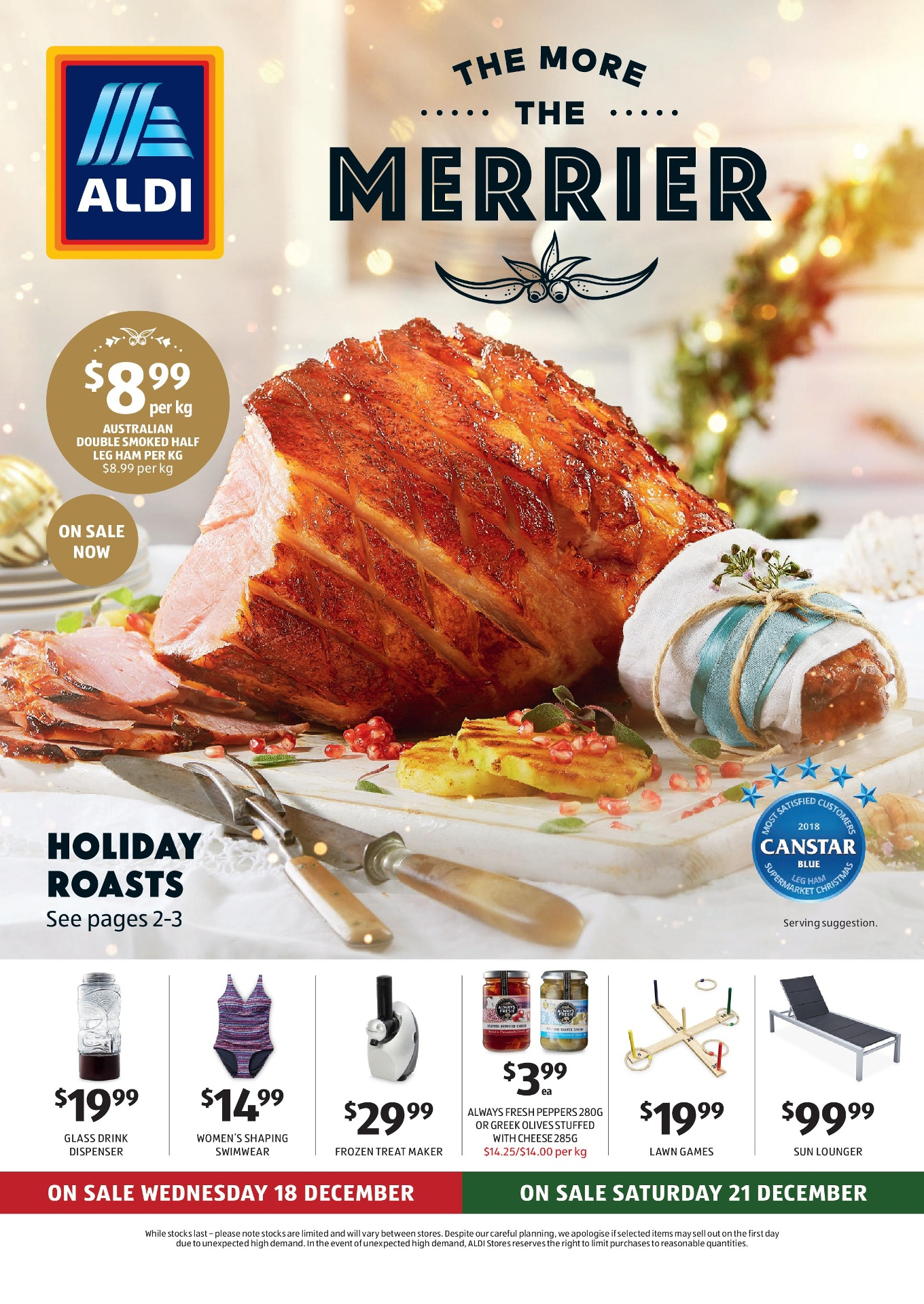 Aldi Catalogue 18 December – 24 December 2019